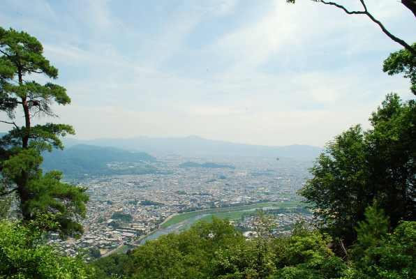 HP_嵐山城から