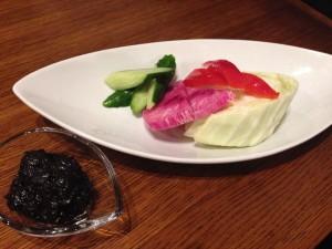 07LIBRA野菜と肉味噌